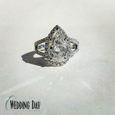 Wedding Day Diamonds provides a large designer selection of ladies' wedding bands to the Minneapolis area, stop by or give us a call at Pear Diamond Engagement Ring, Pear Diamond Rings, Pear Shaped Engagement Rings, Rough Diamond, Wedding Rings, Wedding Bells, Wedding Shit, Wedding Fun, Wedding Dreams