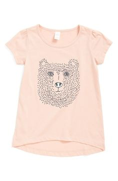 Tucker + Tate High/Low Graphic Tee (Toddler Girls, Little Girls & Big Girls) available at #Nordstrom