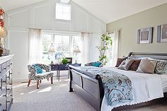 The windows in this Master Suite sure does bring in ALL the sunlight!! #schumacherhomes Visit a Design Studio nearest you www.schumacherhomes.com/location.