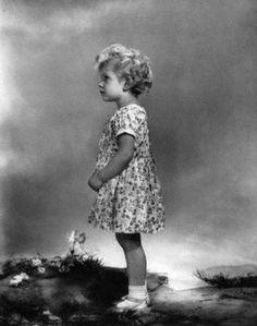 A little girl who will be queen, Elizabeth,1929.