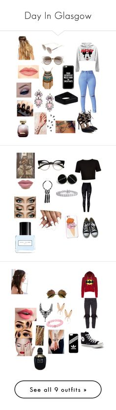 """""""Day In Glasgow"""" by onedirectionforever1297 on Polyvore featuring Casetify, Christian Dior, Johnny Loves Rosie, Leslie Danzis, Erickson Beamon, Marni, Nina Ricci, NYX, Ted Baker and WithChic"""