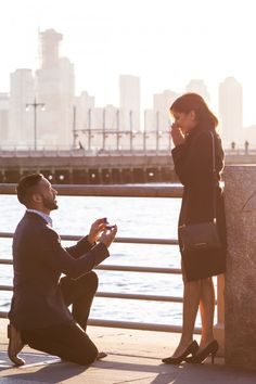 Marriage Proposal Ideas from HowHeAsked Ketan and Narissa's New York City Proposal
