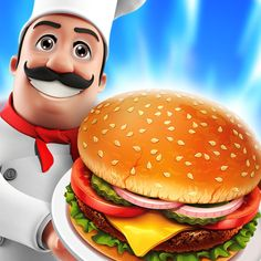 Download IPA / APK of Food Court Hamburger Fever: Burger Cooking Chef for Free - http://ipapkfree.download/7509/