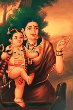 Raja Ravi Varma Ravivarma Paintings, Indian Art Paintings, Krishna Art, Baby Krishna, Shri Ganesh, Lord Krishna, Lord Shiva, Raja Ravi Varma, Indian Literature