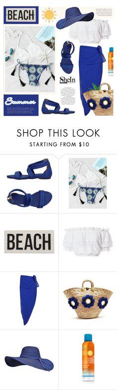 """Shein: Crochet Bikini Set"" by viebunny ❤ liked on Polyvore featuring Nannini, HomArt, LoveShackFancy, Boohoo, Muzungu Sisters, Summer, bikini and shein"