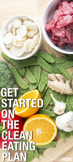 Not sure how to start EATING CLEAN? Read this for some great tips to get you started. #JamiesCleanEatingrecipes
