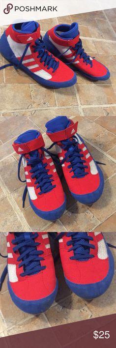 b5b02aae51f7 Adidas wrestling shoes size men s 8 Adidas wrestling shoes size men s 8!  Excellent condition!