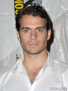 The perfect man, for me !   I love his perfect lips !  Henry Cavill - 'Man Of Steel' Panel At Comic-Con 2012