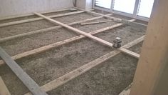 Fußbodenisolierung mit Hanf-Lehmschüttung. Ladder, Cob Home, Hemp, Stairway, Ladders