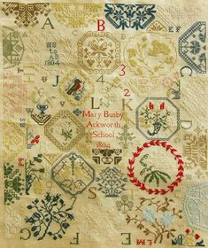 Mary Busby Ackworth Sampler
