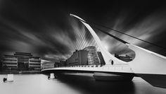 Samuel Beckett Bridge Dublin Ireland.......