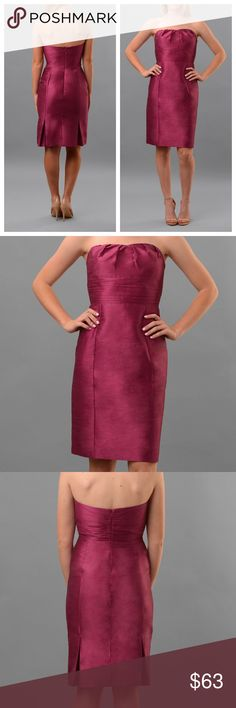 Anna Elyse Sweetheart Silk Bridesmaid Dress Gorgeous silk sweetheart dress in fuchsia. Mix and match your bridesmaids with this and other Anna Elyse dresses in my store. Anna Elyse Dresses