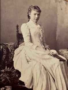 "Photo by unknown photographer of Archduchess Valerie (Marie Valerie Mathilde Amalie) Apr Sep Austria. The & last child of Emperor Franz Joseph I Austria & Empress Elisabeth ""Sissi"" Bavaria. Kaiser Franz Josef, Franz Josef I, Empress Sissi, The Empress, Old Photos, Vintage Photos, Austria, Impératrice Sissi, Joseph"