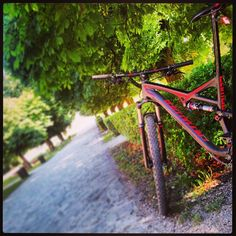 my ride #specialzed #camber #2014 #black_red #fsr #team_specialized