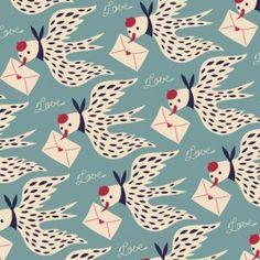 Wallpaper Repositionnable Love letters