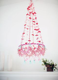 Valentine's Day Polish chandelier - The House That Lars Built
