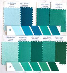 Cool Winter Color Palette, Deep Winter Colors, Summer Colors, Clear Winter, Dark Winter, I Cool, Cool Stuff, Winter Typ, Seasonal Color Analysis