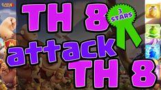 Clash of Clans TH 8 Attack TH 8 3 Stars Clan War   Y Channel : https://www.youtube.com/channel/UC2SiB2IYhPOqAZZIeB4BNmQ