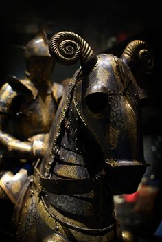 Horse Armor, Royal Armory, Stockholm, Sweden.
