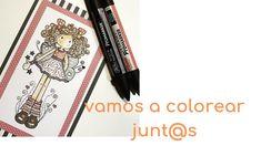 VAMOS A COLOREAR JUNTOS UN SELLO DIGITAL DE NURIA Copic, Printables, Scrapbook, Youtube, Tips, Digi Stamps, Learn To Draw, Free Coloring, Lets Go