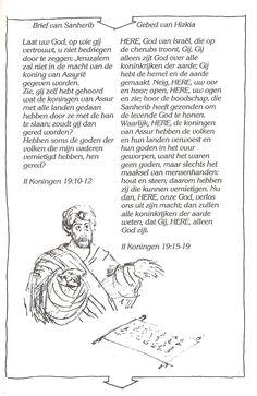 brief sanherib, gebed hizkia ik geloof deel 3A blz43