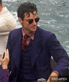 Aidan Turner as Philip Lombard (And Then There Were None)
