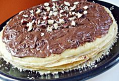 My Recipes, Favorite Recipes, Hungarian Recipes, Cakes And More, Nutella, Tiramisu, Pancakes, Goodies, Food And Drink