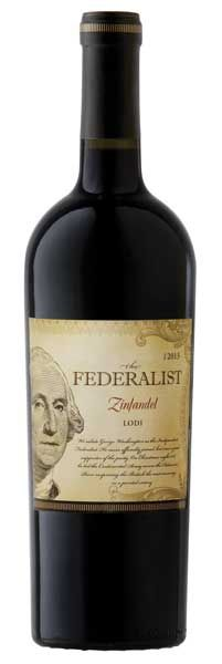 The Federalist 1776 Zinfandel: This robust Zinfandel boasts aromas of plum, cherry and cinnamon. Red fruit and bright berry sing on the palate and create a lively mouthfeel. Good density, supple tannins and bright acidity lead to a long, smooth finish. Try pairing with barbequed pork ribs or leg of lamb. – Winemaker's Notes