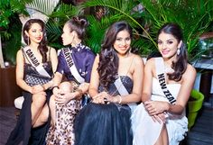 Contestants of Miss Universe 2013 have gathered for the first party of the pageant in Moscow city, Russia Miss World 2013, Miss Universe 2013, Bridesmaid Dresses, Wedding Dresses, Pageant, Moscow, Russia, Lifestyle, Party