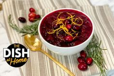 Jamika Pessoa's Thanksgiving Cranberry Sauce - The Dr. Oz Show Thanksgiving Treats, Thanksgiving Side Dishes, Microwave Recipes, Cooking Recipes, Easy Recipes, Cranberry Sauce, The Dish, Food Network Recipes, Good Food