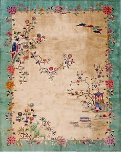 Chinese Deco rug- gorgeous