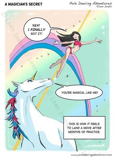 No, it's true. We're sexy, magical, unicorn-blessed creatures of awesome. DEAL WITH IT.