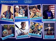 We have 600+ Professional Athletes trusting their health and careers to USANA!
