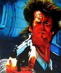 Dirty Harry painting for sale