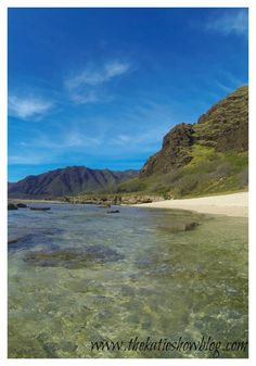 The dreamy westside of Oahu. Where the ocean meets the mountains.