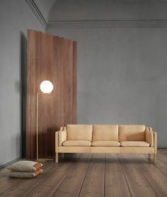 '2213' sofa designed by Børge Mogensen for Fredericia