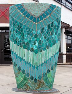 Kasia Mosaics - Stained Glass Mosaic Art, Process and Education by Kasia Polkowska ~ Alamosa, Colorado Mosaic Artwork, Mosaic Wall, Mosaic Glass, Stained Glass, Glass Art, Art Hub, Patio Bar, Mosaic Ideas, Interior Ideas