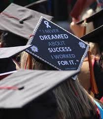 A cool graduation cap idea.. think mine is gonna say..  this & 30+ Creative Graduation Cap Decoration Ideas | Pinterest | Cap ...