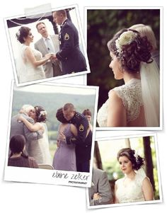 Welcome to my Blog!!! - Elaine Zelker Photography  Other views of Laura's headpiece.