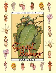 Classic australian authors for the bookshelf May Gibbs Australian Author - Gumnut Babies