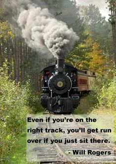 Even if you're on the right track....