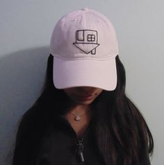 The Neighborhood Inspired White Embroidered Hat