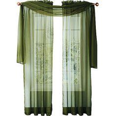 window scarf