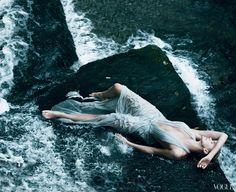 Charlize Theron por Annie Leibovitz