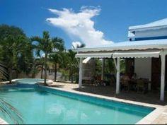 GRANDE VILLA CR�OLE PROCHE PLAGE DE BOIS JOLAN - Location Villa #Guadeloupe #SainteAnne