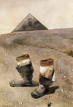 everyday_i_show: paintings by Andrew Wyeth  I love this Artist