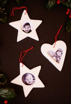 How To Make Salt Dough Picture Frame Ornaments