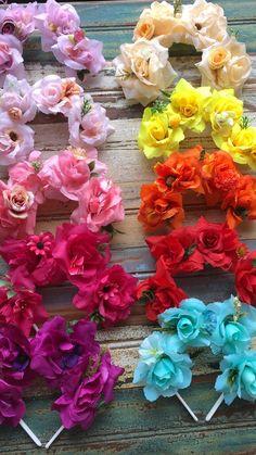 Diy Flower Crown, Diy Crown, Flower Crowns, Baby Love, Paper Flowers, Create, Birthday, Party, Etsy