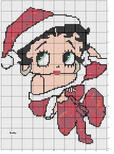schema punto a croce betty boop Stitch Movie, Lilo E Stitch, Stitch Cartoon, Filet Crochet Charts, Cross Stitch Charts, Cross Stitch Designs, Cross Stitch Patterns, Betty Boop, Cross Stitching
