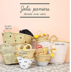 DIY jolis paniers #baskets